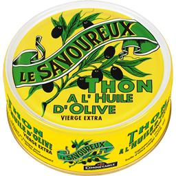 Thon à l'huile d'olive vierge extra
