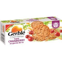 Sablé Cranberry au germe de riz