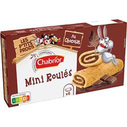 Mini roulés au chocolat