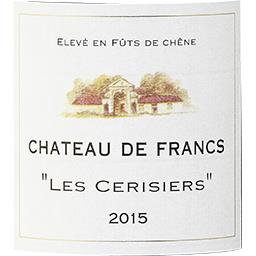 Francs Côtes de Bordeaux Château de Francs - Les Cer...