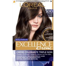 Excellence Crème - Crème colorante châtain clair profond 500