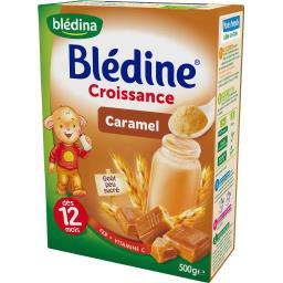 Blédine Croissance - Céréales caramel, dès 12 mois