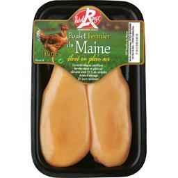 Filet de poulet fermier du Maine blanc Label Rouge