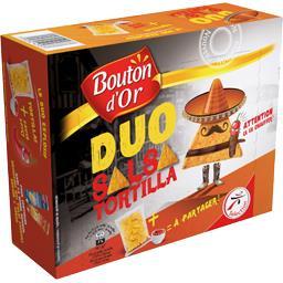 Duo salsa tortilla