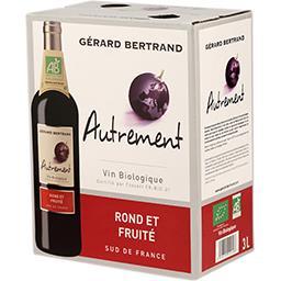 Vin de pays d'Oc Autrement BIO, vin rouge