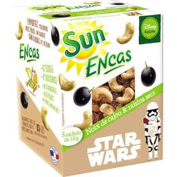 Sun Fruits Secs Encas - Noix de cajou & raisins
