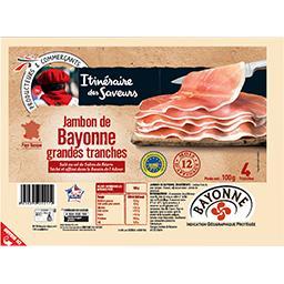Jambon de Bayonne grandes tranches