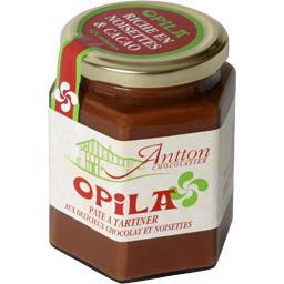 Opila - pâte à tartiner au chocolat noir et noiset