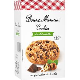 Cookies noisettes aux gros éclats de chocolat