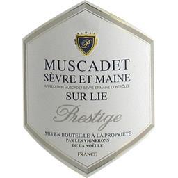 Muscadet Sèvre et Maine sur Lie Prestige, vin blanc