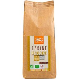 Mon Fournil Farine de pois chiche BIO sans gluten le sachet de 500 g
