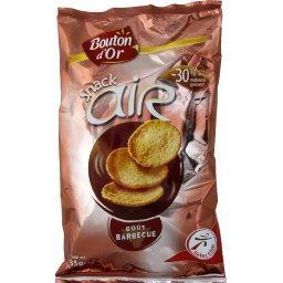 Biscuit apéritif Snack Air goût barbecue