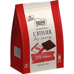 Chocolat Les Carrés noir 70%