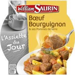 Bœuf bourguignon & ses pommes de terre