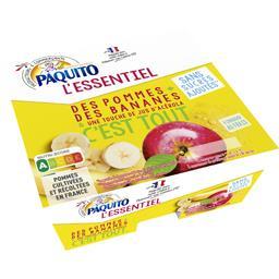 L'Essentiel - Purée de pomme banane sans sucres ajou...