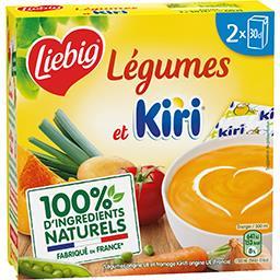Soupe légumes et Kiri