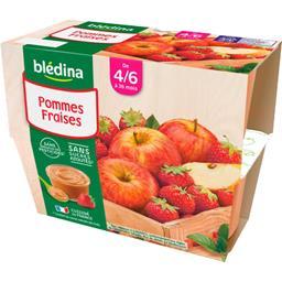 Desserts pommes fraises, de 4/6 à 36 mois