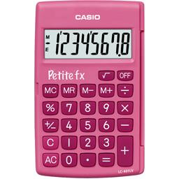 Calculatrice primaire 'petite FX' rose
