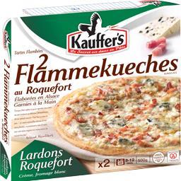 Flammekueches au Roquefort