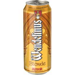 Meteor Bière blonde Wendelinus la canette de 50 cl