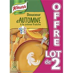Knorr Soupe Douceur d'automne à la crème fraîche