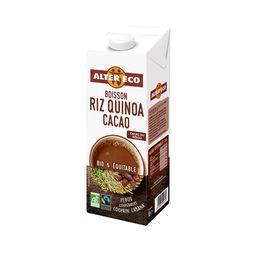 Boisson riz quinoa cacao BIO & équitable