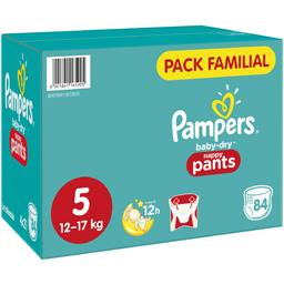 Pampers Couches-culottes Baby Dry, T5 : 12-17 kg
