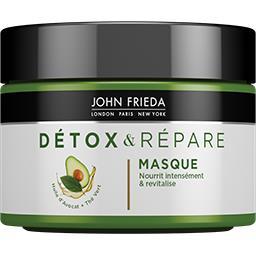 Masque Détox & Répare huile d'avocat + thé vert pour...