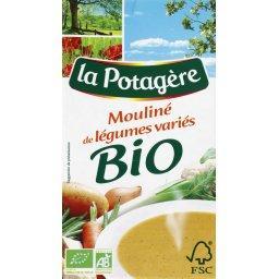 BIO - Potage, mouliné de légumes variés