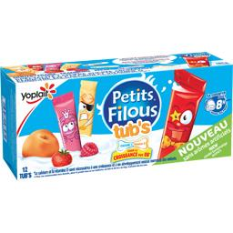 Petits Filous Tub's - Spécialité laitière goûts frai...
