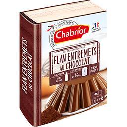 Préparation pour flan entremet au chocolat