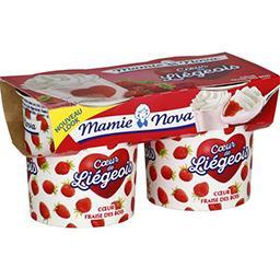 Cœur de Fruit - Spécialité laitière fraise des bois