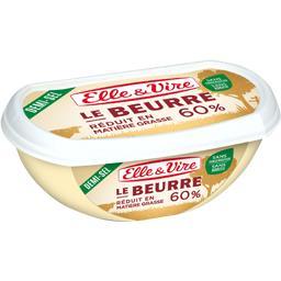 Le Beurre réduit en matière grasse 60%, demi-sel