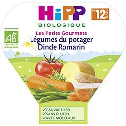 Les Petits Gourmets - Légumes du potager dinde romar...