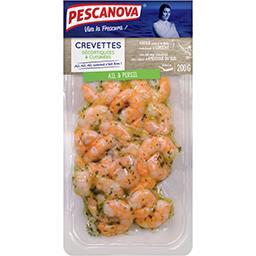 Crevettes décortiquées cuisinées ail et persil