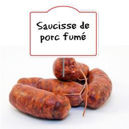 Saucisses de porc FUMEES