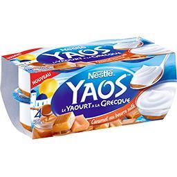 Yaos - Le Yaourt à la grecque caramel au beurre salé
