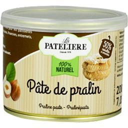 La Patelière 100% Naturel - Pâte de pralin le paquet de 200 g