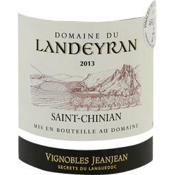 Saint Chinian vin rouge, 2015