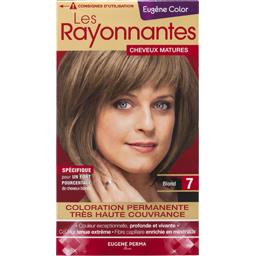 Coloration 7 blond - Les Rayonnantes