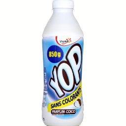 Yop - Yaourt à boire sucré aromatisé parfum coco