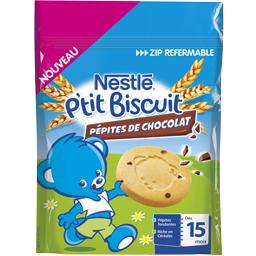 P'tit Biscuit - Biscuits pépites de chocolat, dès 15...