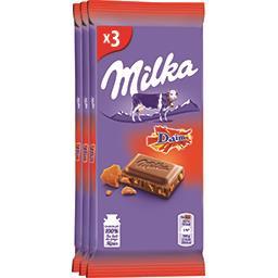 Chocolat au lait aux éclats de caramel Daim