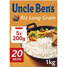 Uncle Ben's Riz long grain tradition 20 minutes