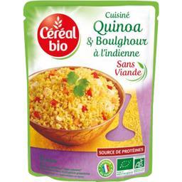 Cuisiné Quinoa & boulghour à l'indienne BIO