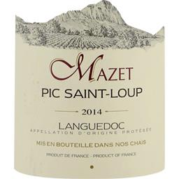 Domaine du mazet, vin rouge