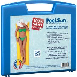 Kit complet désinfection 100% sans chlore piscines 25 à 40m³