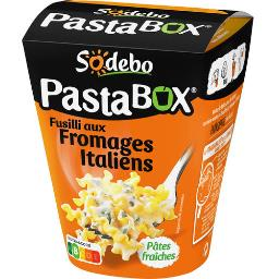 Sodeb'O Sodebo Pasta'box - Fusilli aux fromages italiens