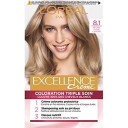 Excellence Crème - Crème colorante Blond Clair Cendr...