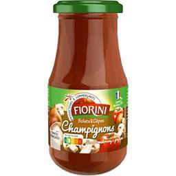Sauce tomate champignons